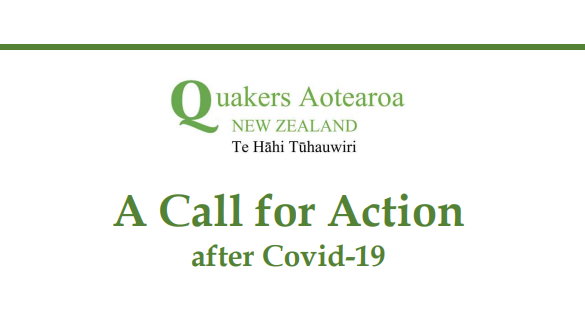 Quakers Release A Call for Action after COVID-19